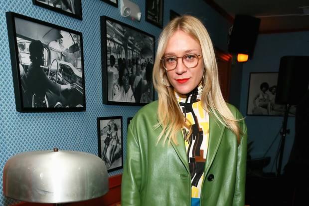 2018: Chloë Sevigny auf einer Fashion-Party in New York
