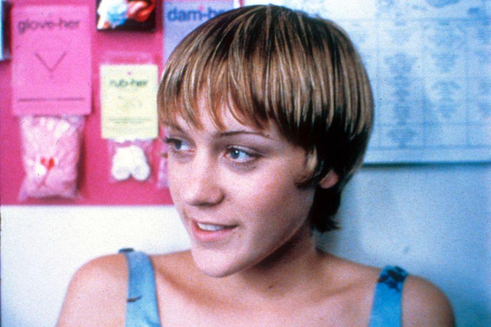 """1995: Chloë Sevigny in der Rolle der Jenny im Independent-Film """"Kids"""""""