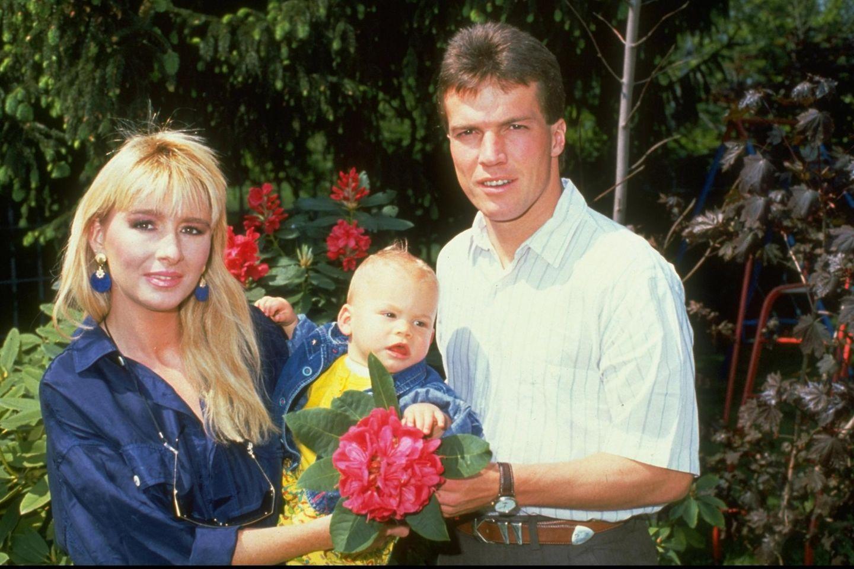 Lothar Matthäus mit Ex-Frau Sylvia und der gemeinsamen Tochter Viola