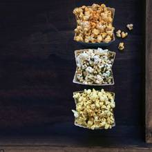 Popcorn-Trio