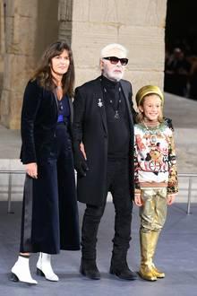 Virginie Viard, Karl Lagerfeld, Hudson Kroenig