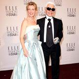 Mit Schauspielerin Maria Furtwängler posiert er 2008 auf dem Red Carpet der Mercedes Benz Fashion Week.