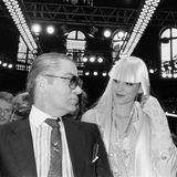 Das französische Model Inès de la Fressange wird Lagerfelds erste Muse.