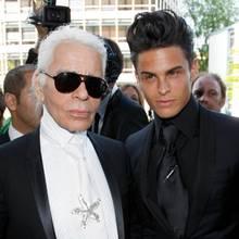 Karl Lagerfeld, Baptiste Giabiconi