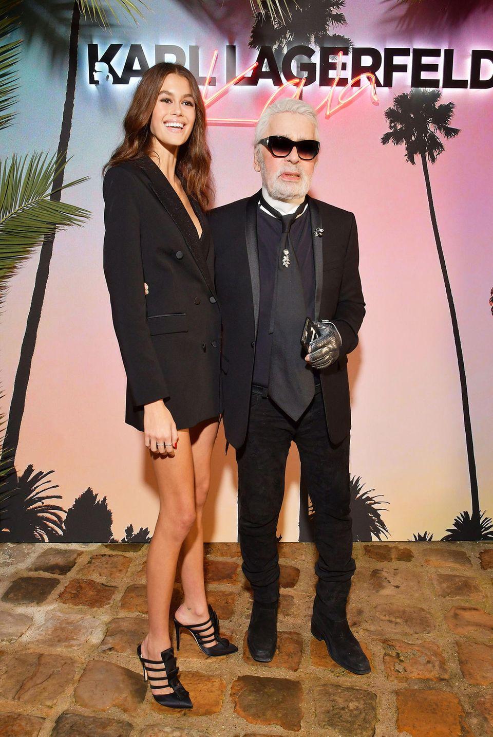 Auch Kaia Gerber, Tochter von Supermodel Cindy Crawford, galt zuletzt als seine Muse.