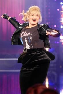Auf der Bühne gibt Maite Kelly immer alles! Auch modisch gesehen sind ihre Auftritte immer ein absolutes Highlight, wie dieser rockige Bühnenlook der beliebten Sängerin zeigt.