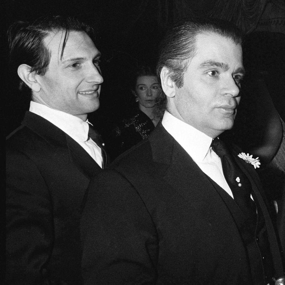 Jacques de Bascher, Karl Lagerfeld (†)