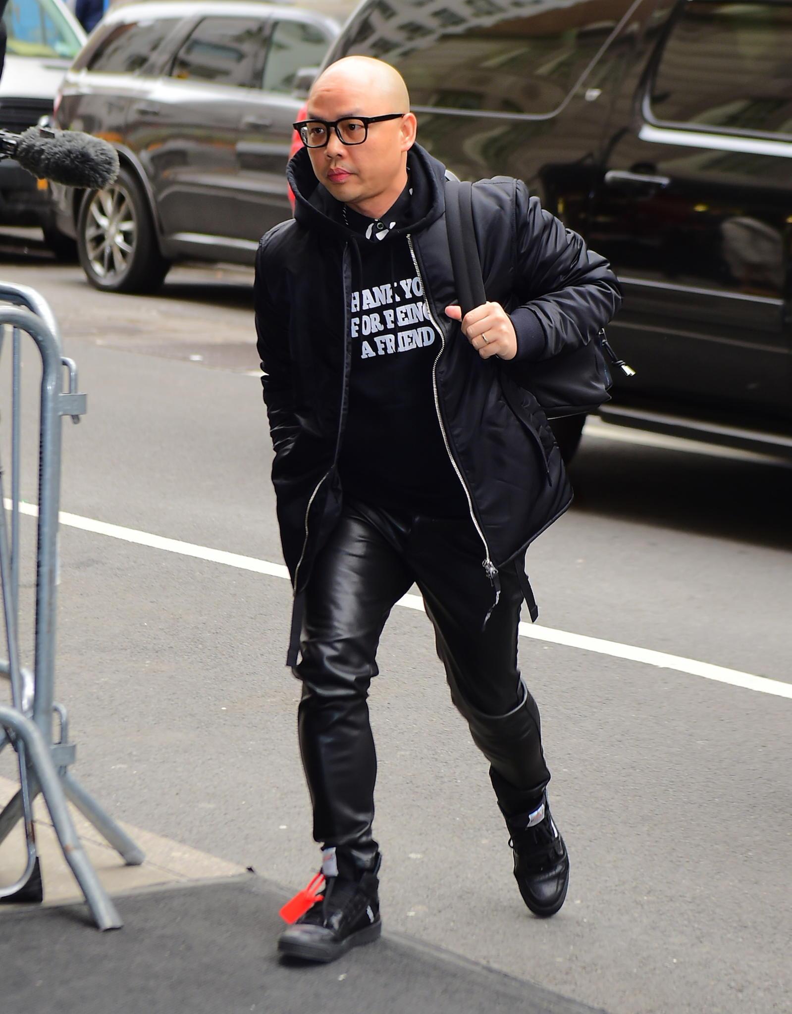 """Daniel Martin vor dem """"The Mark Hotel"""" in New York, auf dem Weg zu seiner Freundin Herzogin Meghan"""