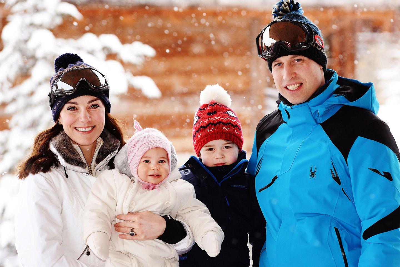 Prinz William, Herzogin Catherine, Prinz George, Prinzessin Charlotte