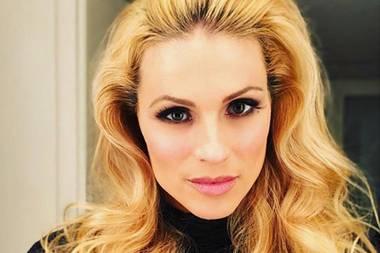 Ciao Bella! Michelle Hunziker erfreut ihre Instagram-Follower mit diesem verführerischen Glamour-Locken-Selfie.
