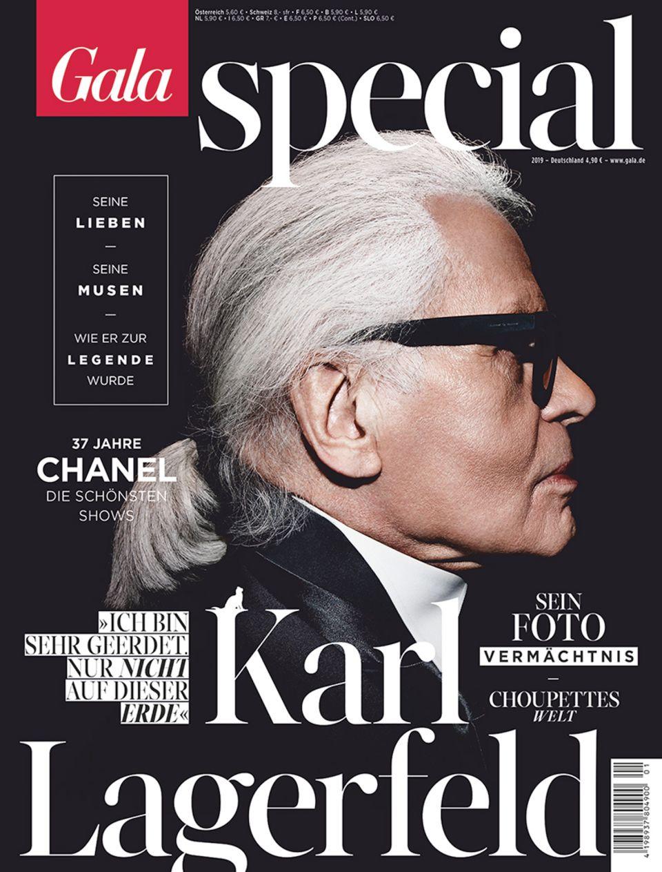 Das große Karl-Lagerfeld-Special von GALA gibt es ab Samstag (22. Februar) am Kiosk oder schon jetzt als ePaper (iOs oder Android)