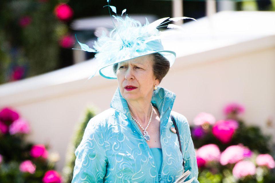 Prinzessin Anne ist schon mit dem Gesetz in Konflikt geraten