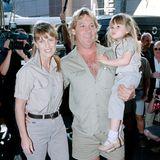Terri und Steve Irwins süße Tochter Bindi wurde 1998 geboren und war überall dabei.
