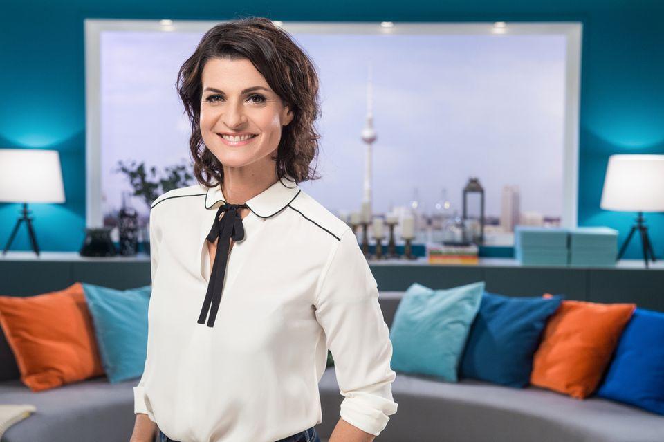 """Marlene Lufen darf im """"Sat. 1 Frühstücksfernsehen"""" wieder """"Superball"""" spielen"""