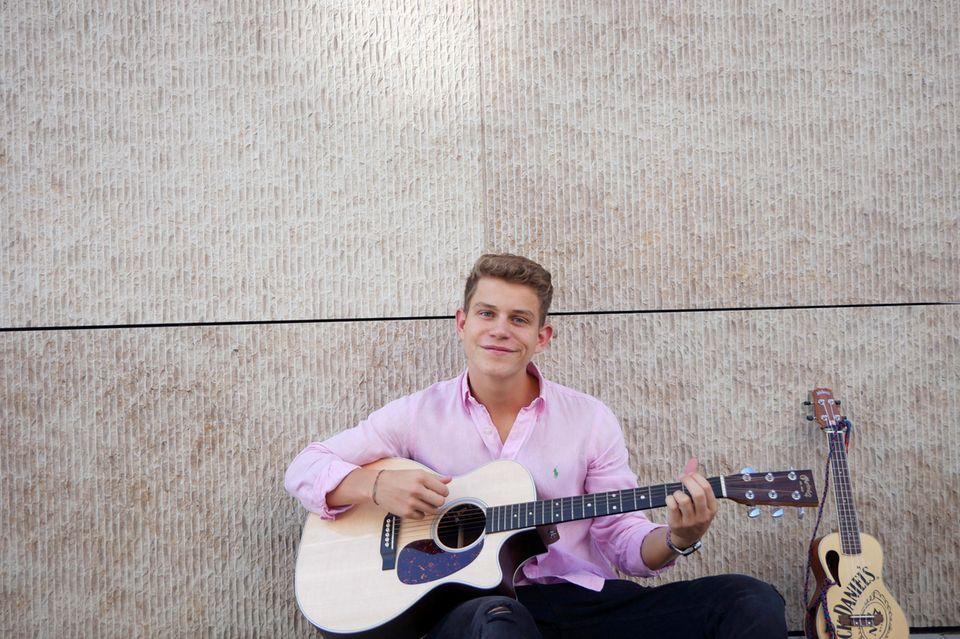 """""""Unser Lied für Israel""""-Teilnehmer Gregor Hägele"""