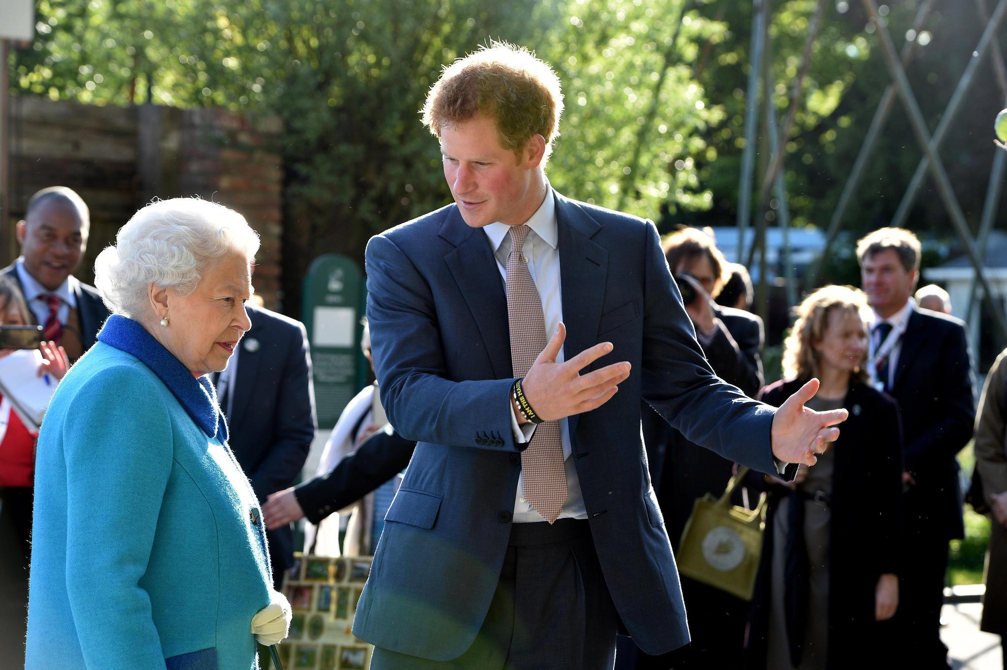 Queen Elizabeth und Prinz Harry - zwei Royals, die auch mal unterschiedlicher Meinung sind
