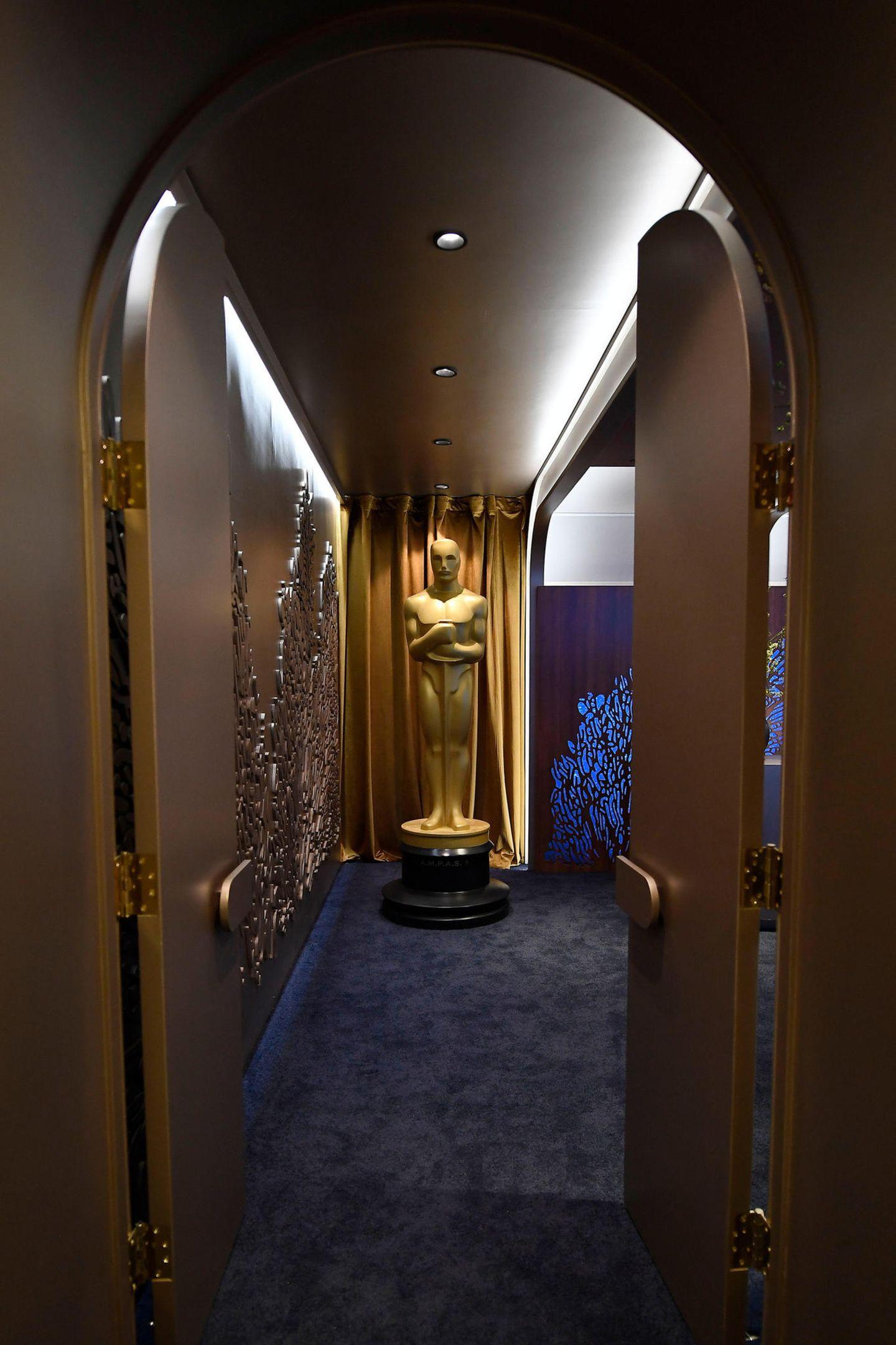 Oscars überall! Auch im berühmtenGreenroom.