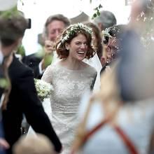 """Game of Thrones-Hochzeit:Kit Harington """"Jon Snow"""" heiratet Co-Star Rose Leslie in Großbritannien"""