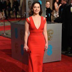 "Ebenso ""Game of Thrones""-Star Emilia Clarke."