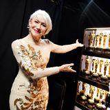 Helen Mirren wird einen der begehrten Goldjungen präsentieren.