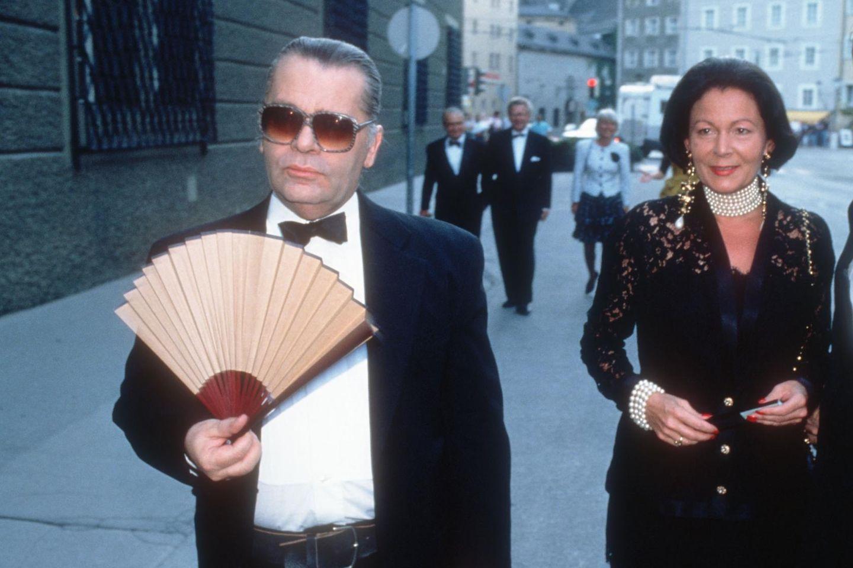 Karl Lagerfeld (†),Marietta Andreae
