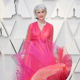 Helen Mirren in Schiaparelli Haute Couture