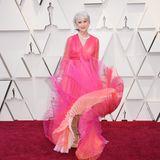 Helen Mirren hat einen Marylin Monroe-Moment auf dem roten Teppich.