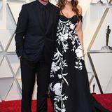 Christian Bale und Frau Sibi in Carolina Herrera