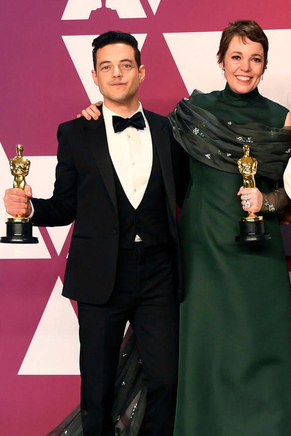 Rami Malek, Olivia Colman, Regina King, Mahershala Ali