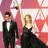 """Die Freude über den Oscar für den """"Best Live Action Short Film"""" bei Guy Nattiv und Jaime Ray Newman ist riesig."""