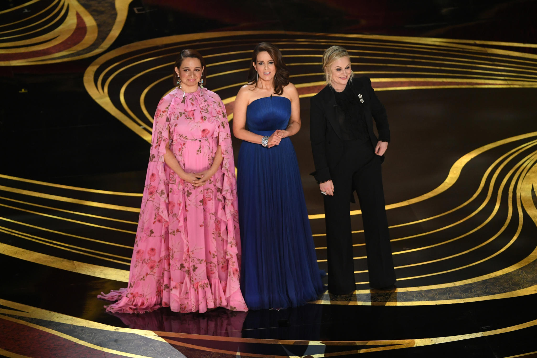 Maya Rudolph, Tina Fey und Amy Poehler witzeln über das Oscar-Chaos2019