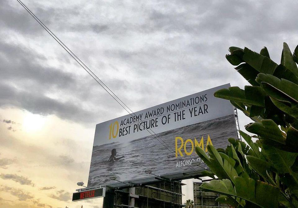 """Der ehemalige GNTM-Juror Thomas Hayo verrät über Instagram seinen Favoriten.Zu dem Filmplakat von dem 10-fach nominierten Film """"Roma"""" schreibt der Artdirector: """"Viel Glück heute Abend, Alfonso Cuaron (Regisseur des Meisterwerks)."""""""