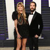 Heidi Klum und Tom Kaulitz wissen mittlerweile, wie sie im schicken Partnerlook auf dem roten Teppich zu posieren haben.