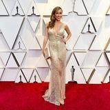 Moderatorin Annemarie Carpendale ist Oscar-Expertin und berichtete auch in diesem Jahr für Pro7 vom roten Teppich. In diesem Wow-Look machte sie der ein oder anderen Hollywood-Beauty Konkurrenz.