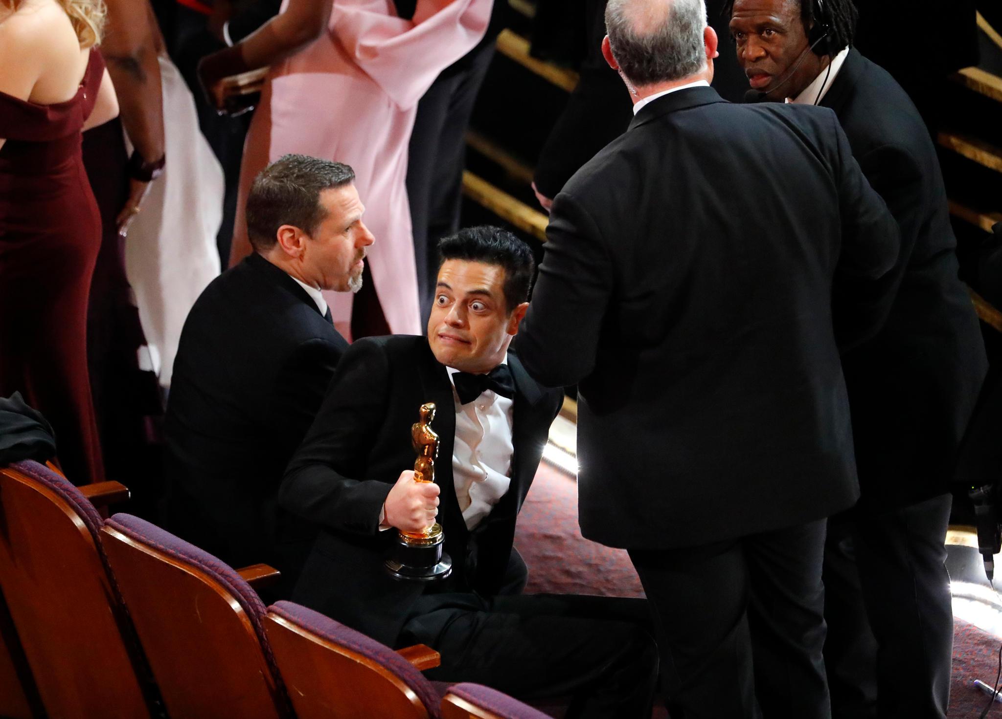 Rami Malek bei den Oscars 2019