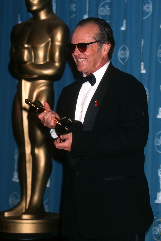 Jack Nicholson konnte bislang drei Oscars mit nach Hause nehmen