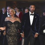 "Hand in Hand mit Mama: ""Black Panther""-Star Michael B. Jordan mit Donna Jordan."
