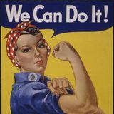 """Rosie Nieteneinschläger, Ikone des Zweiten Weltkriegs  Ganz im Sinne von Rosies Kampfspruch """"We can do it!"""" schrieb Meghan, nachdem sie den sexistischen Werbespot für Spülmittel im TV gesehen hat,einen Brief an den Riesenkonzern Procter & Gamble, Hillary Clinton und """"Nick News""""-Moderatorin Linda Ellerbee.Der Spot wurde daraufhin geändert."""