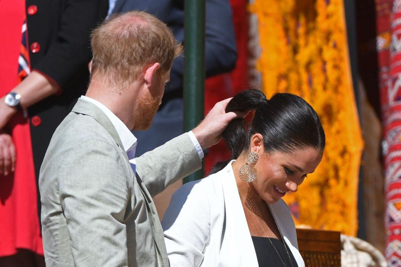 Prinz Harry und Herzogin Meghan in Marokko.