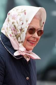Queen Elizabeth bei derRoyal Windsor Horse Show