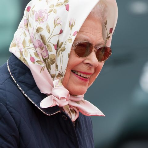 Queen Elizabeth bei der Royal Windsor Horse Show
