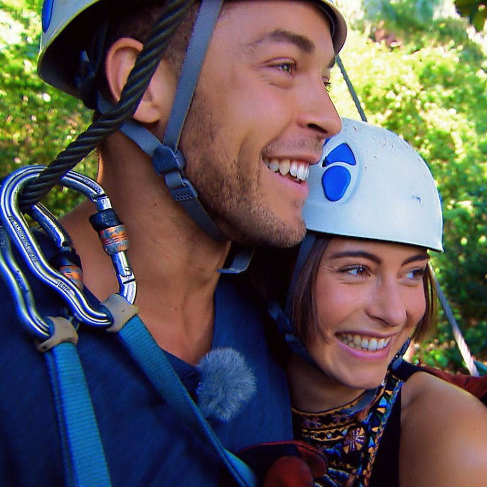 Der Bachelor Andrej Mangold wählte Jenny für das Adventure-Dreamdate.