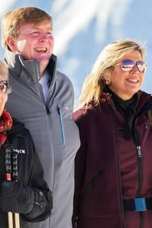 Die niederländischen Royals : Willem-Alexander sorgt für Lacher beim Familienfoto