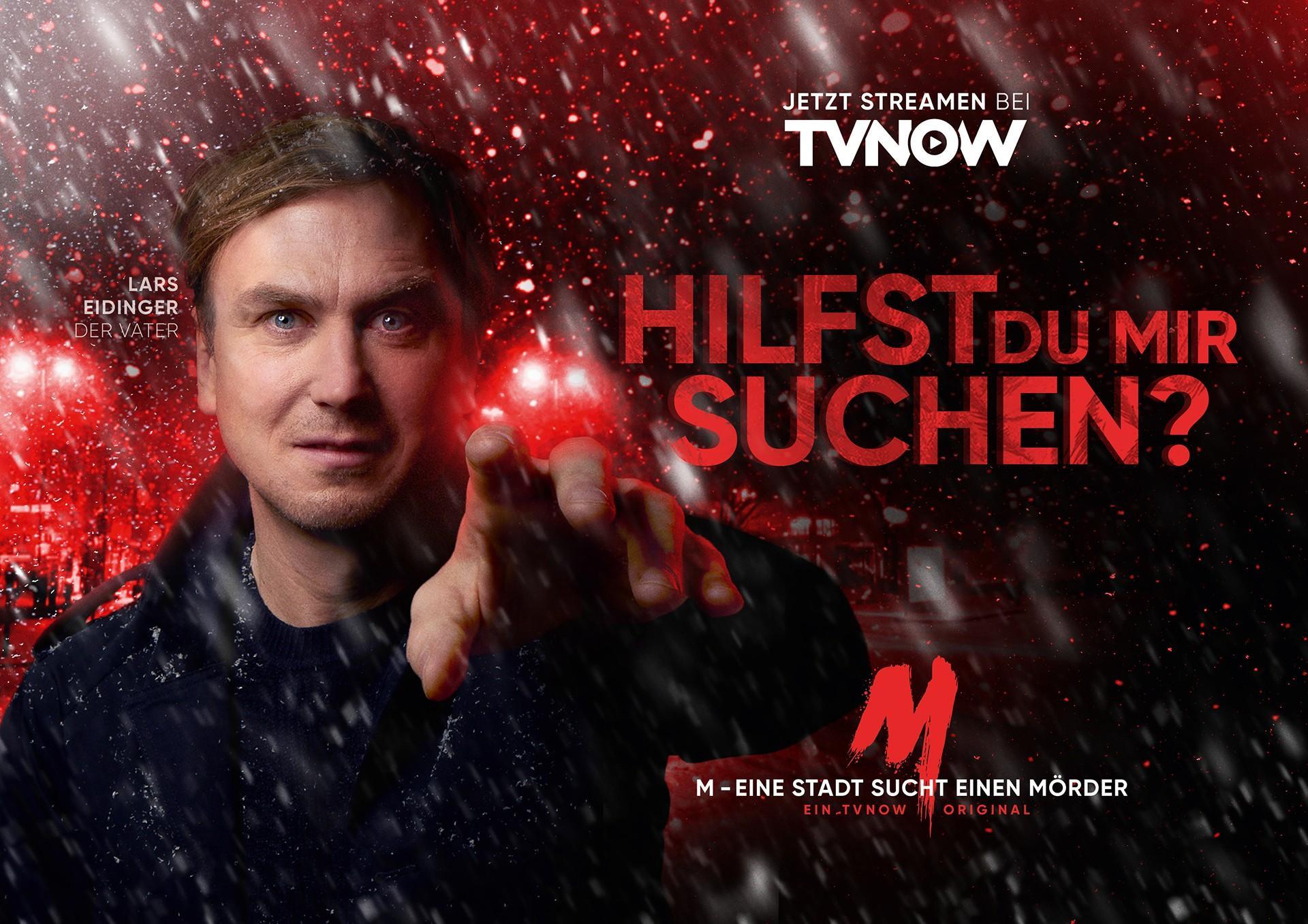 """Lars Eidinger sucht seine Tochter in """"M – Eine Stadt sucht einen Mörder"""""""