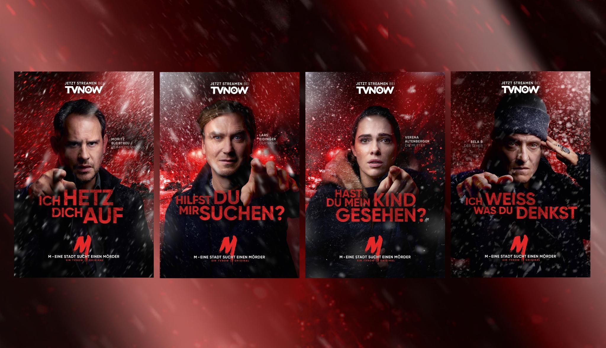 Key-Visuals zur neuen TVNOW-Produktion