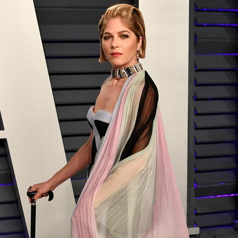 "Selma Blair bei der ""Vanity Fair""-Party der Oscars 2019"