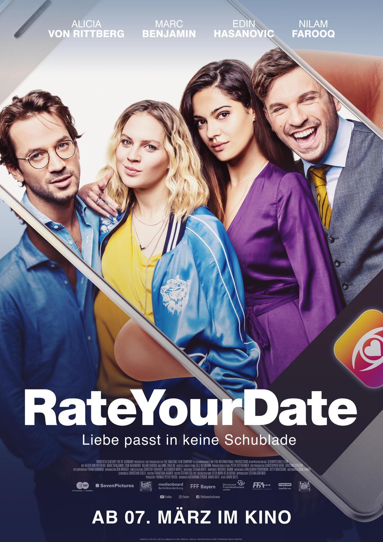 """""""Rate Your Date"""": Ab dem 07. März in den deutschen Kinos"""