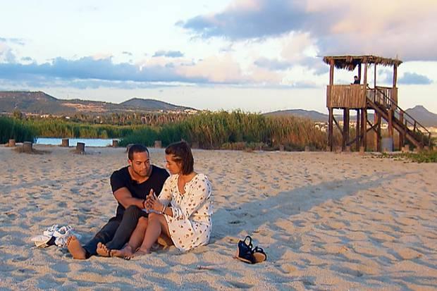 Andrej und Jennifer genießen die letzten gemeinsamen Stunden vor der Entscheidung.