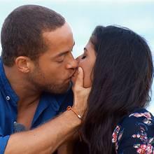 Andrej genießt den vorerst letzten Kuss mit Eva