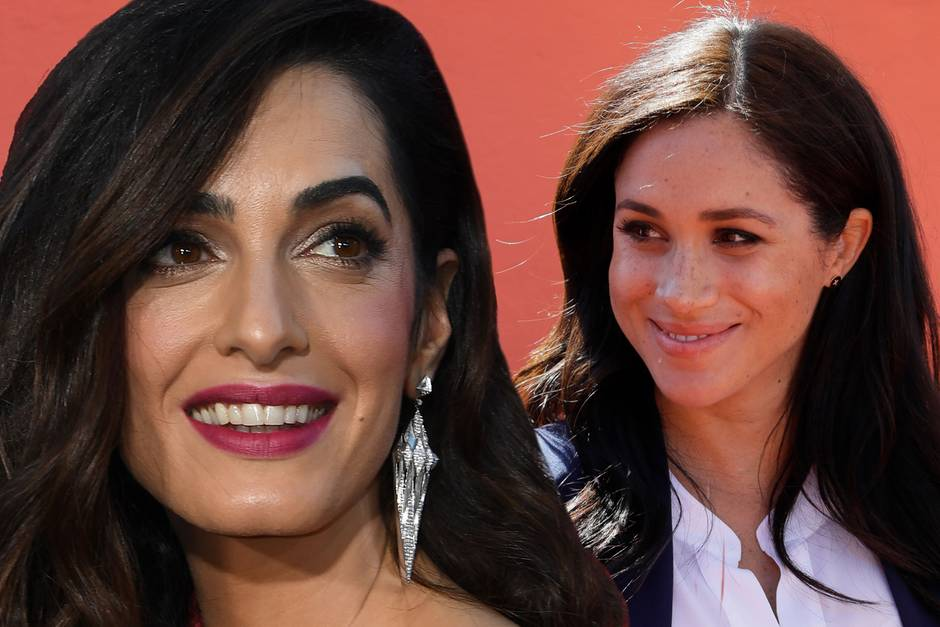 Amal Clooney, Herzogin Meghan